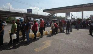 Enfrentamientos en grifos mexicanos por escasez de gasolina