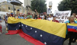 Canciller descartó que el Gobierno esté detrás de protesta en embajada venezolana