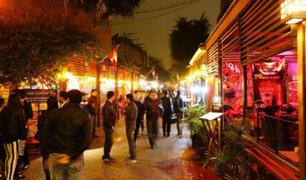 Miraflores: personal de fiscalización realizó operativo en calle de Las Pizzas