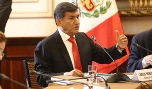 Ministro Morán: Seguridad del Callao, SJL y La Victoria tendrá tratamiento especial