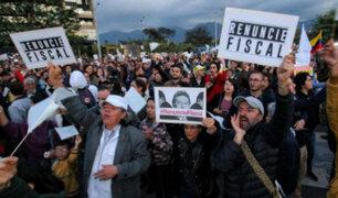 Colombianos exigen renuncia del fiscal general por caso Odebrecht