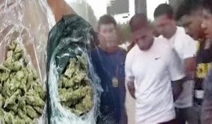 """San Borja: capturan a microcomercializador de droga que hacía """"delivery"""" por el Estadio Nacional"""