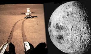 Sonda china Chang'e-4: revelan imágenes inéditas de la cara oculta de la Luna