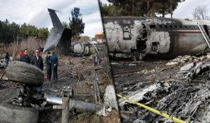 Irán: 15 muertos y un sobreviviente deja accidente de avión militar