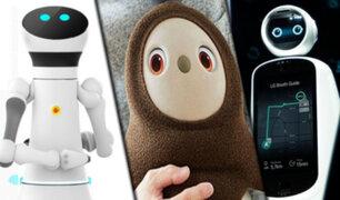 EEUU: robots son protagonistas en la feria tecnológica de Las Vegas
