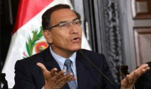 IEP: el 73% de peruanos se muestra a favor de investigar a Vizcarra por caso Conirsa