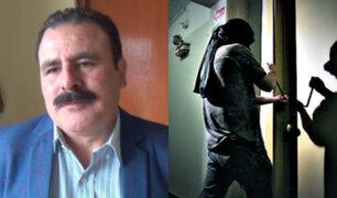 Pueblo Libre: roban casa de excongresista Jorge Rimarachín y se llevan S/ 70 mil