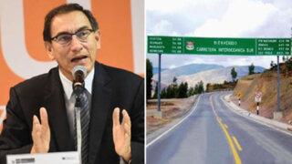 Presidente Vizcarra reafirmó que su empresa no contrató con Odebrecht