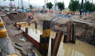 Estructuras del Metro del Lima estarían en riesgo tras aniego en SJL