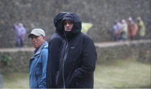 Actor Robert de Niro visitó ciudadela de Machu Picchu