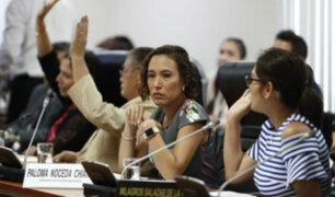 Ética resolverá denuncia de Paloma Noceda contra Luis López Vilela en 10 días