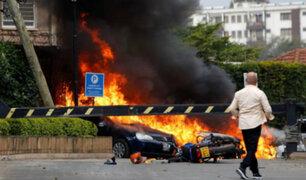 Kenia: se registra explosión y tiroteo en hotel de Nairobi