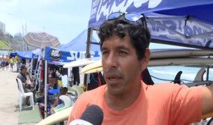 Surfista víctima de robo solicita ayuda para recuperar sus tablas