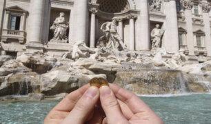 """Roma y la iglesia católica enfrentados por monedas de la """"Fuente de los Deseos"""""""