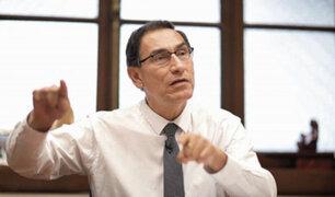 Presidente Vizcarra anuncia que evalúa aumentar sueldo de alcaldes