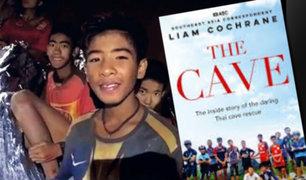 Libro desmiente versión del rescate de 12 menores en cueva de Tailandia