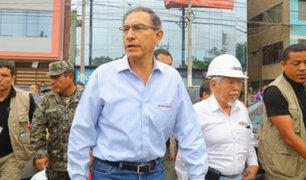 Presidente Vizcarra expresa su desacuerdo con recusación a juez Concepción Carhuancho