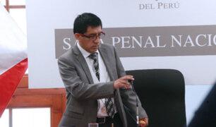 Presidencia del PJ lamenta retiro de Concepción Carhuancho del caso Cocteles