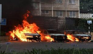 Ucrania: incendio en hotel deja al menos diez muertos