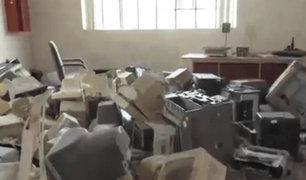 Exalcalde de VMT deja local municipal en pésimas condiciones