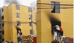 Joven con habilidades diferentes fallece durante incendio en San Miguel