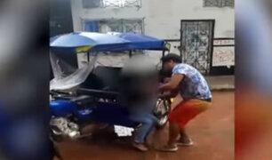 Pucallpa: sujeto golpea a su pareja por no decirle su clave de redes sociales