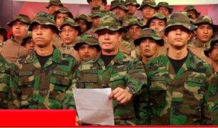 Lima: grupo de militares venezolanos desconoce a Maduro y respalda a Guaidó