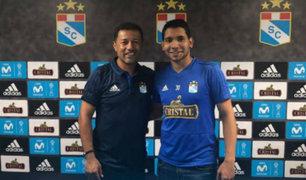 Cristian Palacios arribó a Lima para reforzar a Sporting Cristal