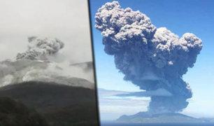 Volcán Kuchinoerabujima entra en erupción en el sur de Japón