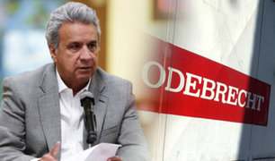 Ecuador pagará deuda a jubilados con dinero recuperado de Odebrecht