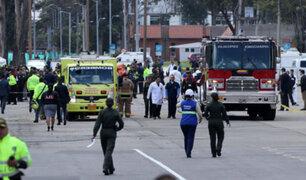 Colombia: cadetes peruanos salieron ilesos de atentado en escuela de policía
