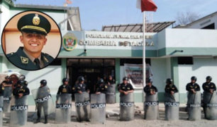 Piura: familiares de policía con prisión preventiva exigen justicia