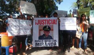 Congresistas rechazan prisión preventiva a policía en Piura