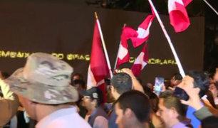 Miraflores: Cientos marchan contra Odebrecht y sus consorciadas