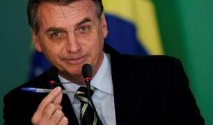 """Jair Bolsonaro: """"La Amazonía es nuestra; los datos de deforestación son falsos"""""""