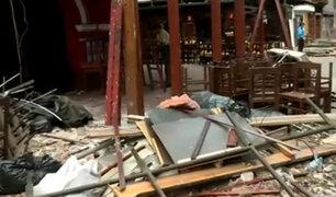 Miraflores: continúa trabajos de remodelación en Calle de las Pizzas