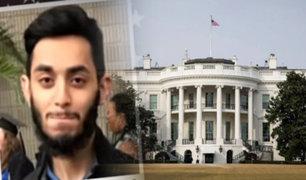 EEUU: detienen a sujeto que quería atacar la Casa Blanca con un cohete antitanque