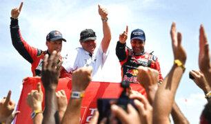 Dakar 2019: los ganadores de las cinco categorías del rally