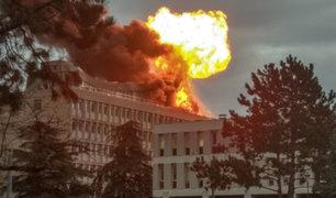 Francia: explosión en universidad de Lyon desató el pánico y deja tres heridos