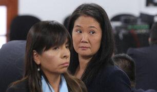 """Keiko Fujimori: abogada señala que """"no existe motivo alguno"""" para que siga detenida"""
