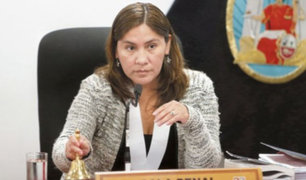 Congresistas cuestionan a jueza que reemplaza a Concepción Carhuancho