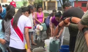 SJL: conocida universidad donó 30 mil litros de agua a damnificados