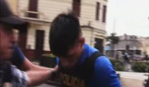 Detienen a cabecilla de banda que asaltó 5 veces un minimarket en Puente Piedra
