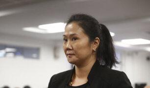 Keiko Fujimori pide a la Corte Suprema continuar proceso en libertad