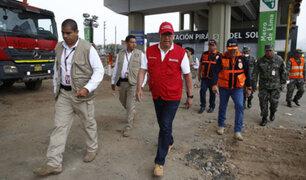 Ministro Huerta: Si dinero del seguro se agota, Sedapal pagará lo que falte
