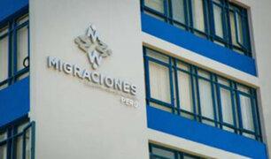 Migraciones pide a Cancillería difundir lista de investigados con impedimento de salida