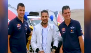 Dakar 2019: Paolo Guerrero se volvió copiloto del francés Cyril Despres
