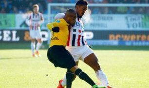 Renato Tapia inició con buen pie su debut en Willem II