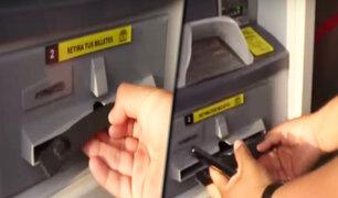Conozca la nueva modalidad de robos en cajeros automáticos