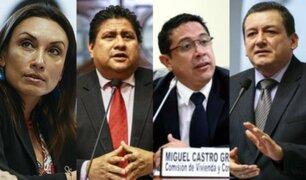 Congresistas disidentes de Fuerza Popular conforman nueva bancada Unidos por la República